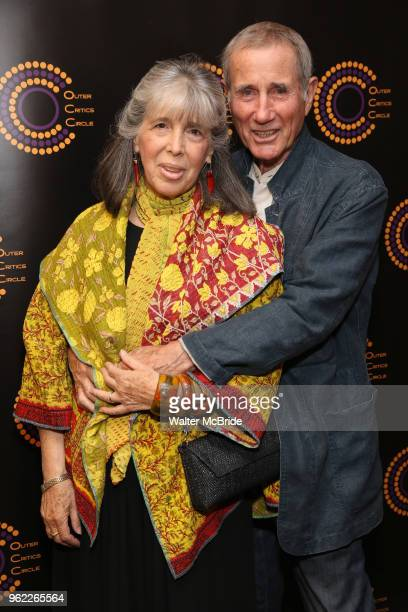 Julia Schafler and Jim Dale attend the 68th Annual Outer Critics Circle Theatre Awards at Sardi's on May 24 2018 in New York City