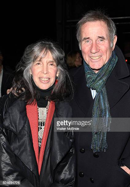 Julia Schafler & Jim Dale attending the Opening Night Performance of the Roundabout Theatre Company's Broadway Production of 'Talley's Folly' at the...