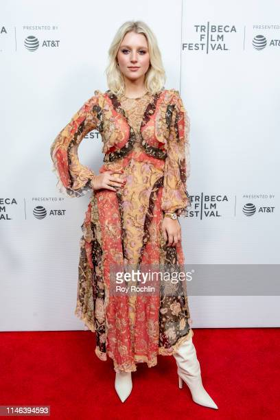 Julia Schlaepfer attends a screening of Charlie Says during the 2019 Tribeca Film Festival at Village East Cinema on May 01 2019 in New York City