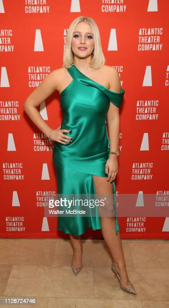 Julia Schlaepfer attends the Atlantic Theater Company Divas' Choice Gala at the Plaza Hotel on March 4 2019 in New York City