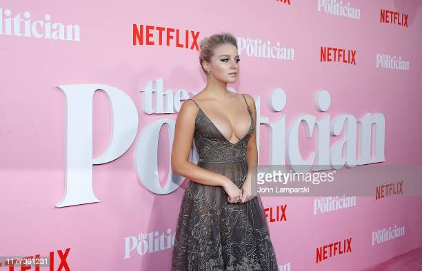 Julia Schlaepfer attends The Politician New York Premiere at DGA Theater on September 26 2019 in New York City