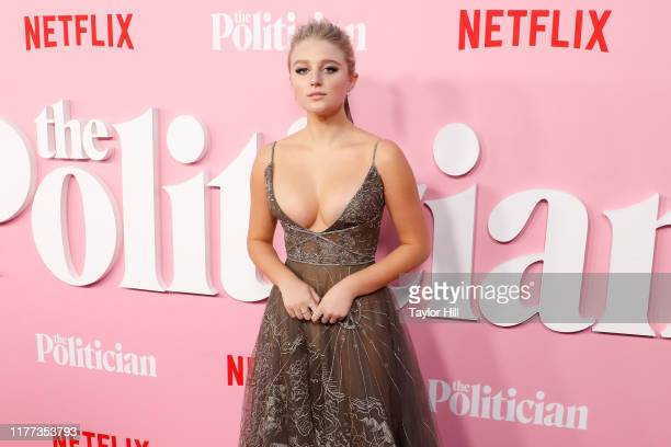 Julia Schlaepfer attends the premiere of Netflix's The Politician at DGA Theater on September 26 2019 in New York City