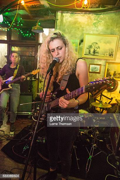Julia Shapiro of Chastity Belt performs at The Hope And Ruin as part of The Alternative Escape on May 21 2016 in Brighton England