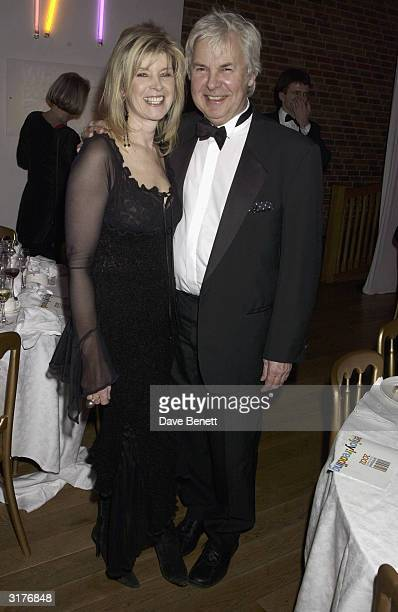 Julia Somerville and guest attend The Whitbread Book Awards at The Brewery on January 28, 2003 in London.