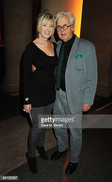Julia Somerville and Jeremy Dixon attend the Turner Prize 2009 winner announcement, at Tate Britain on December 7, 2009 in London, England.