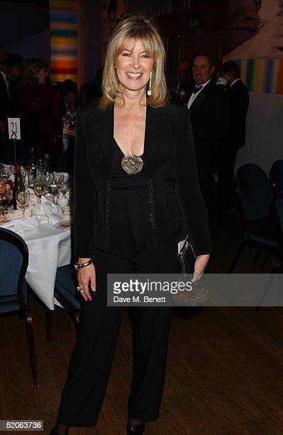 """Julia Somerville attends the afterparty following the """"Whitbread Book Awards 2004"""" at the The Brewery on January 25, 2005 in London. The annual..."""