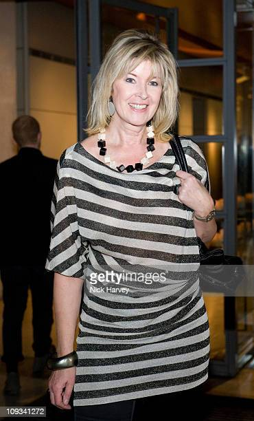 """Julia Somerville attends the launch exhibition """"Skin and Bones"""" for the new Embankment Galleries at the Somerset House on April 22, 2008 in London,..."""