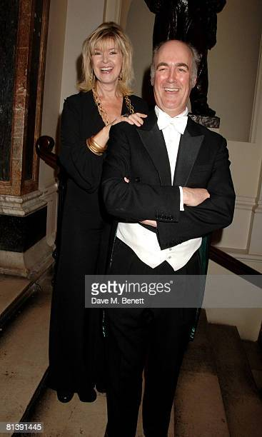Julia Somerville attends the Royal Academy Annual Dinner, at the Royal Academy of the Arts on June 3, 2008 in London, England.