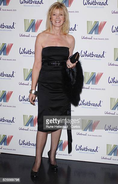Julia Somerville attends the Whitbread Book Awards.