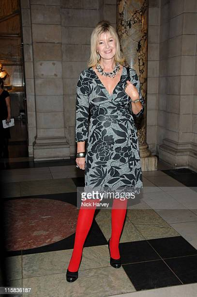Julia Somerville during Victoria and Albert Museum's 150th Anniversary Party - Inside at Victoria and Albert Museum in London, Great Britain.