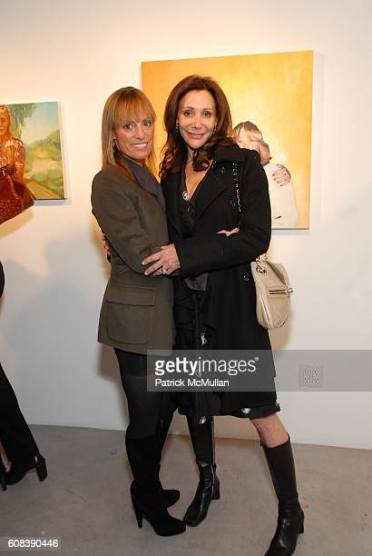 Julia Sorkin and Fran Lasker attend Private Preview Exhibition of Mom's Friends new Paintings by Kimberly Brooks hosted by Heather Taylor and Alex de...