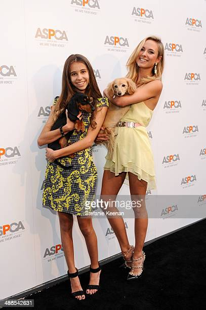 Julia Sorkin and Roxy Sorkin attend ASPCA Celebrates Its Multi-Million Dollar Commitment To Los Angeles' Animals on May 6, 2014 in Beverly Hills,...