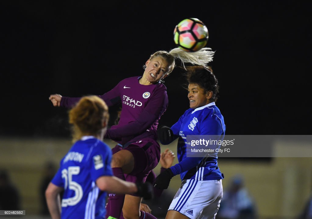 Birmingham City Ladies v Manchester City Women - WSL : Photo d'actualité
