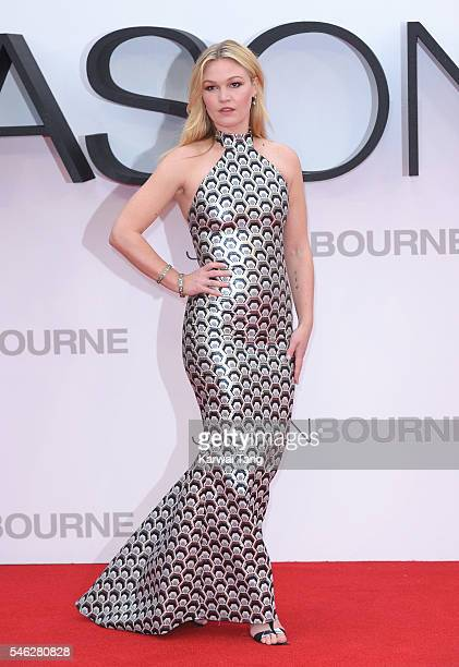 Julia Stiles arrives for the European premiere of 'Jason Bourne' at Odeon Leicester Square on July 11 2016 in London England