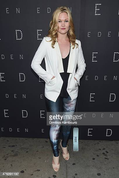 Julia Stiles attends 'Eden' New York Premiere at IFC Center on June 8 2015 in New York City