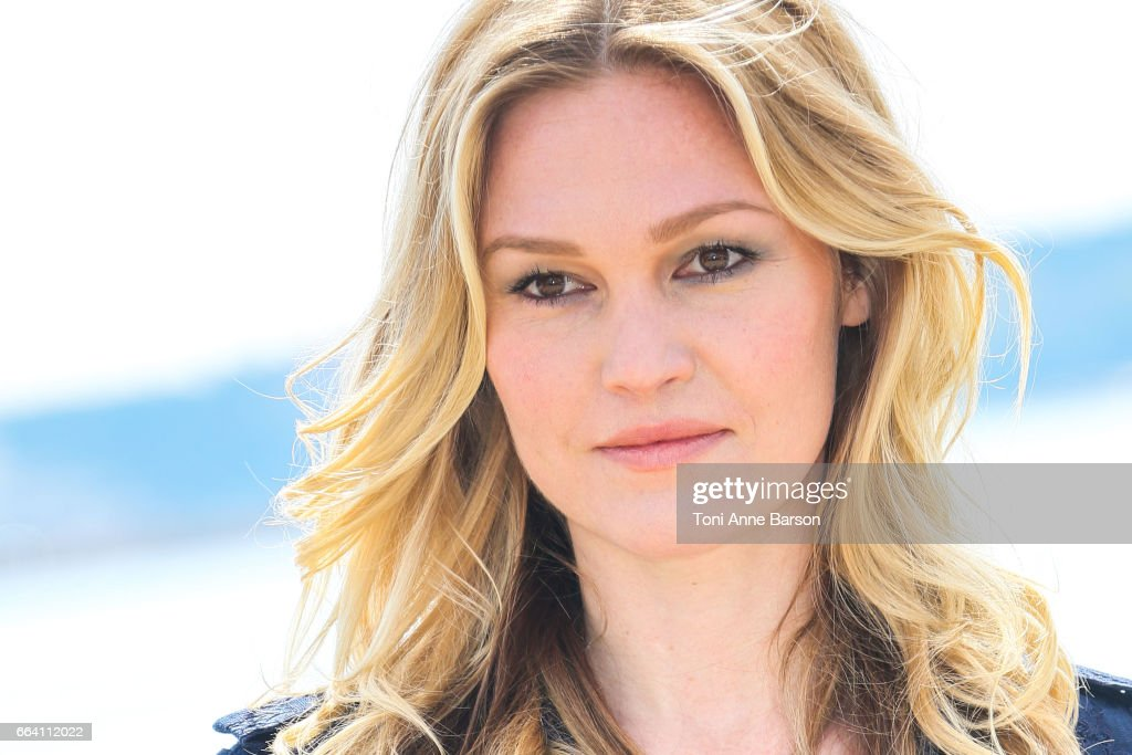 Julia Stiles attends 'Riviera' Photocall as part of MIPTV 2017 on April 3, 2017 in Cannes, France.