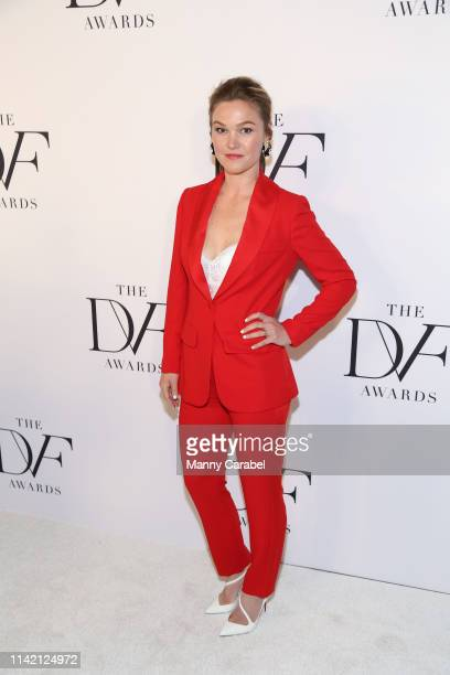 Julia Stiles attends the 10th Annual DVF Awards at Brooklyn Museum on April 11 2019 in New York City