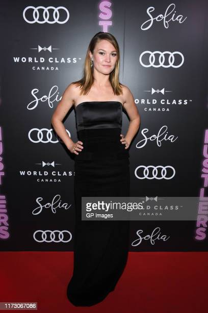 Julia Stiles attends the Audi Canada Sofia and World Class postscreening event for Hustlers during the Toronto International Film Festival at Sofia...