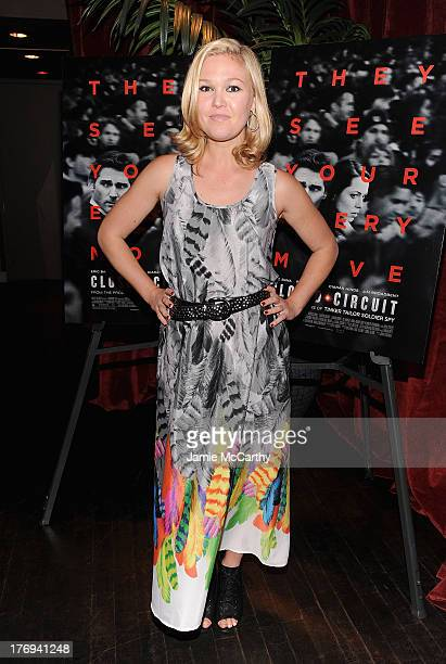Julia Stiles attends the 'Closed Circuit' screening at Tribeca Grand Hotel Screening Room on August 19 2013 in New York City
