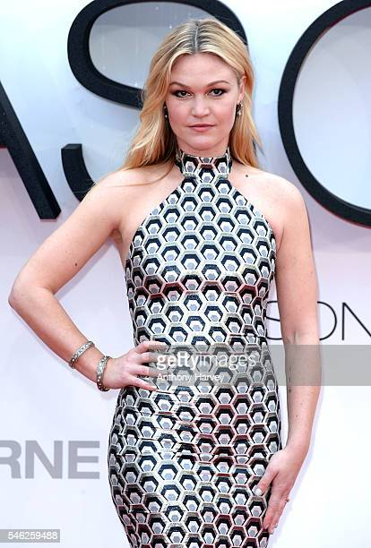 Julia Stiles attends the European premiere of 'Jason Bourne' at Odeon Leicester Square on July 11 2016 in London England