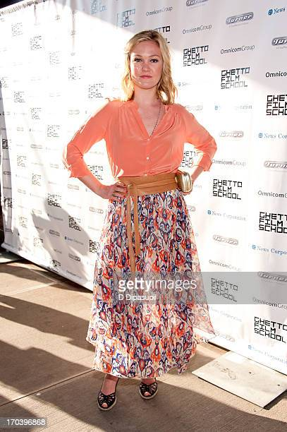 Julia Stiles attends the Ghetto Film School 9th Annual Spring Benefit at The Standard Biergarten on June 12 2013 in New York City