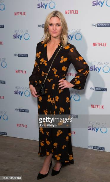 Julia Stiles attends the 'House of Sky Q' Launch at The Vinyl Factory on November 15 2018 in London England