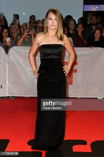 Julia Stiles attends the Hustlers premiere during the 2019 Toronto International Film Festival at Roy Thomson Hall on September 07 2019 in Toronto...