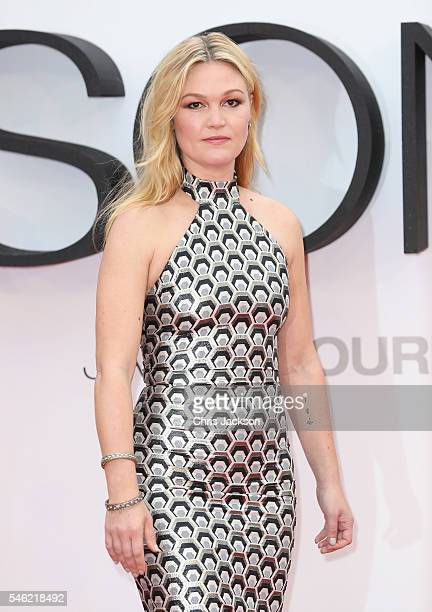 Julia Stiles attends the Jason Bourne European premiere at the Odeon Leicester Square on July 11 2016 in London England