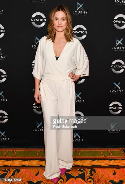 Julia Stiles attends the Photo Call for Ovation at 2019 Winter TCA at The Langham Huntington Pasadena on February 08 2019 in Pasadena California