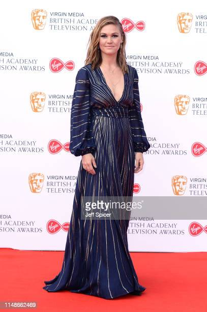 Julia Stiles attends the Virgin Media British Academy Television Awards 2019 at The Royal Festival Hall on May 12 2019 in London England