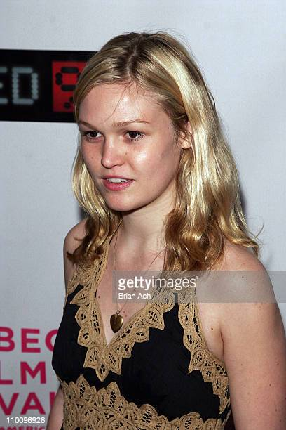Julia Stiles during 5th Annual Tribeca Film Festival United 93 Premiere at Ziegfield Theatre in New York City New York United States