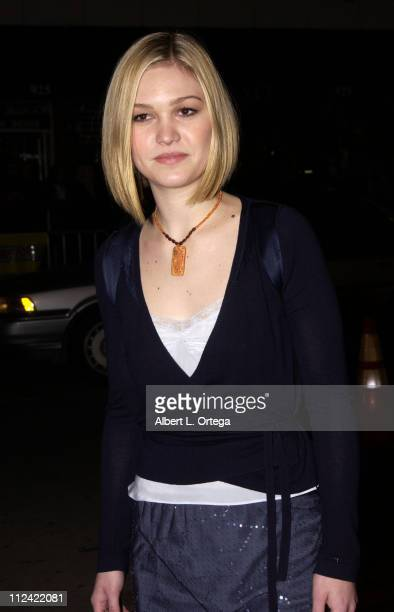 Julia Stiles during A Guy Thing Premiere at Mann's Bruin Theater in Westwood California United States