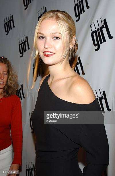 Julia Stiles during ELLEGirl party to celebrate its backtoschool debut issue at The Roxy in New York City New York United States