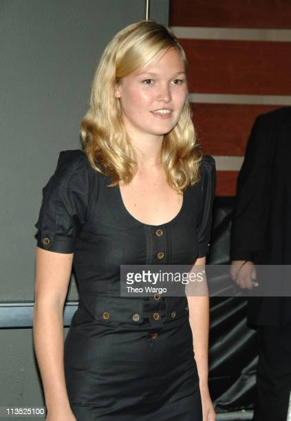 Julia Stiles during MoveOnorg Civic Action and ColorOfChangeorg Present We Will Not Forget Katrina An Event to Commemorate Hurricane Katrina at...