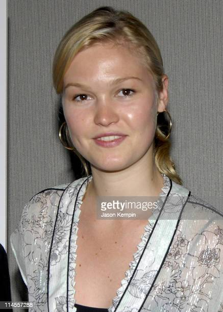 Julia Stiles during Screening Of Sony Pictures Classics' 'Who Killed The Electric Car' June 26 2006 at Sony Screening Room in New York City New York...