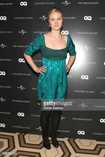 Julia Stiles during The Cinema Society GQ Host a Screening of 'Children of Men' Arrivals at Tribeca Grand Hotel Grand Screening Room at 2 Avenue of...