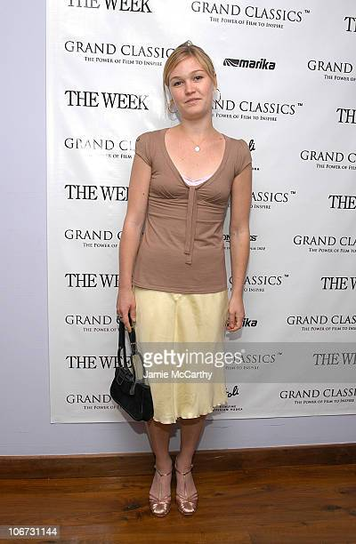 """Julia Stiles during The Week Presents the Grand Classics Screening of """"Dr. Strangelove"""" Hosted by Kevin Kline and Sponsored by Stoli and Marika at..."""