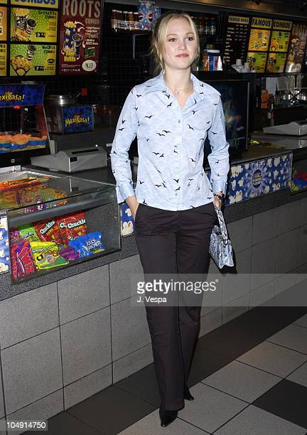 Julia Stiles during Toronto 2001 Business of Strangers Premiere at The Uptown in Toronto Canada