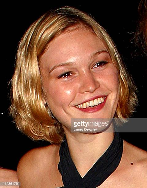 Julia Stiles during 'Twelfth Night' Play Opening Afterparty at Belvedere Castle in New York City New York United States