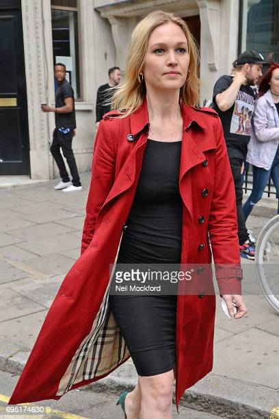 Julia Stiles seen at Magic Radio Studios on June 12 2017 in London England