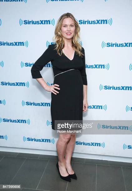 Julia Stiles visits at SiriusXM Studios on September 15 2017 in New York City