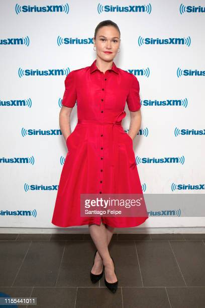 Julia Stiles visits SiriusXM Studios on June 12 2019 in New York City