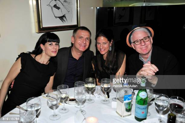 Julia Stoschek Andreas Gursky Katherine Ross and Steve Martin attend LARRY GAGOSIAN hosts a Private Dinner for the ANDREAS GURSKY Opening Exhibition...