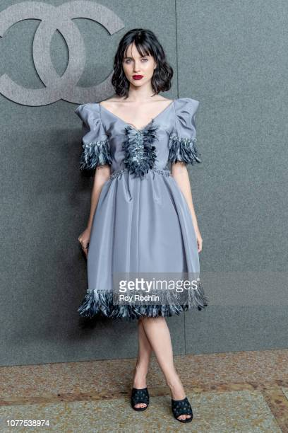 Julia Telles attends the Chanel Metiers D'Art 2018/19 Show at The Metropolitan Museum of Art on December 04 2018 in New York City