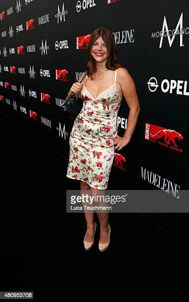 Julia Tewaag attends the New Faces Award Fashion 2015 on July 16 2015 in Munich Germany