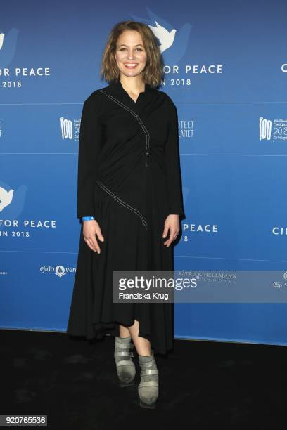 Julia Thurnau attends the Cinema For Peace Gala on the occasion of the 68th Berlinale International Film Festival at Hotel De Rome on February 19...
