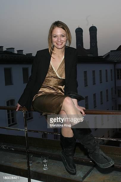 Julia Thurnau Bei Dem Ndf Empfang After Work 2007 Im Hotel 8Seasons Am In München 140307