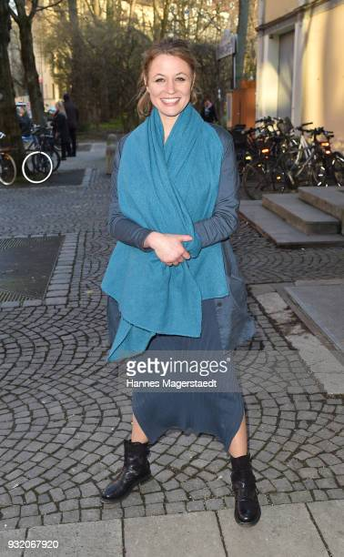 Julia Thurnau during the NdF after work press cocktail at Parkcafe on March 14 2018 in Munich Germany