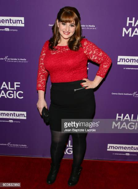Julia Tokarz attends the premiere of Momentum Pictures' 'Half Magic' at The London West Hollywood on February 21 2018 in West Hollywood California