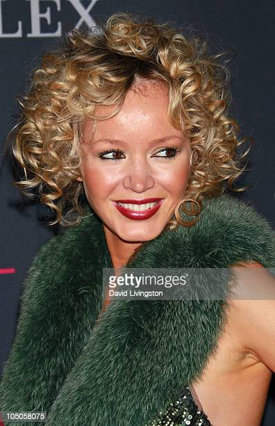 Julia Trappe attends the Los Angeles Philharmonic opening night gala to celebrate music director Gustavo Dudamel and her husband Peruvian tenor Juan...